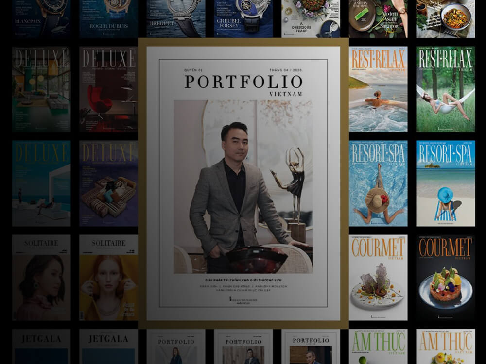 Brand & Co features in the 2020 launch edition of Portfolio magazine
